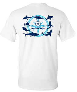 NorthCoast Boats Aqua Shark Tee