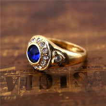 Blue Stone Ring/Necklace