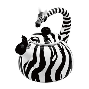 Zebra Whistling Tea Kettle - All About Coffee n Tea