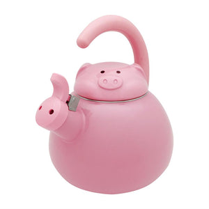Pink Pig Whistling Tea Kettle - All About Coffee n Tea