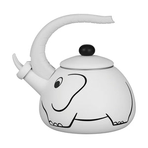 White Elephant Whistling Tea Kettle - All About Coffee n Tea
