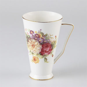 Luxury Porcelain Tea Mug in Tumbler Style - All About Coffee n Tea
