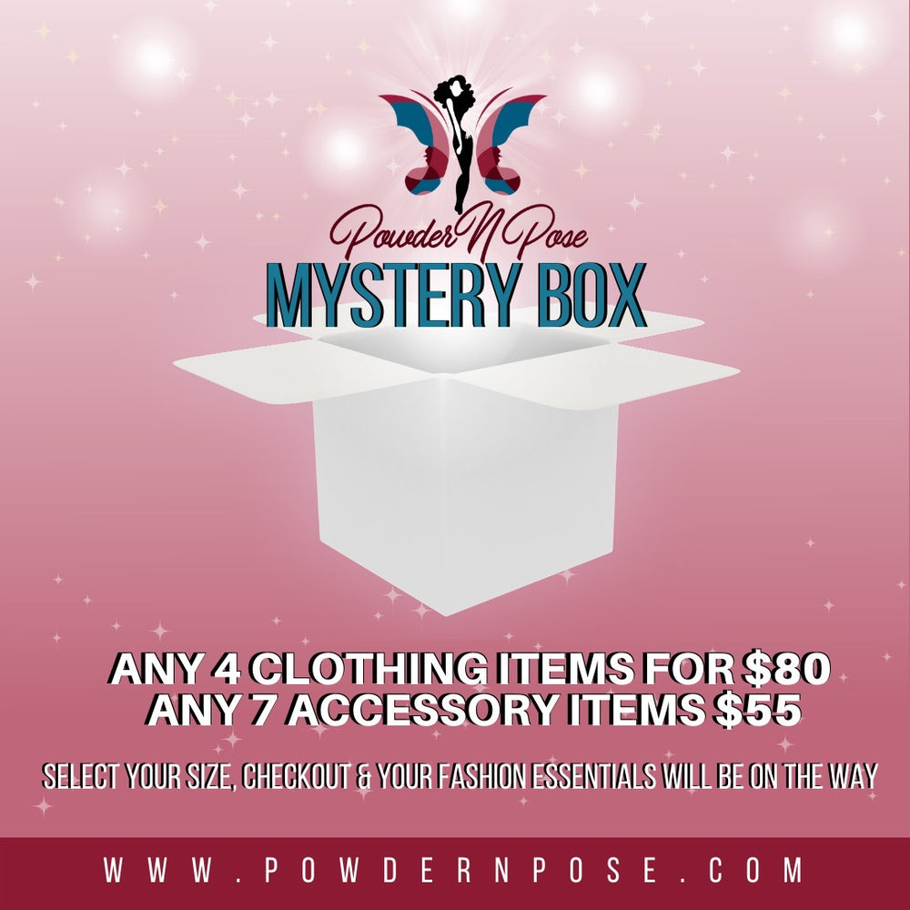 Powder N Pose Mystery Box - Accessories