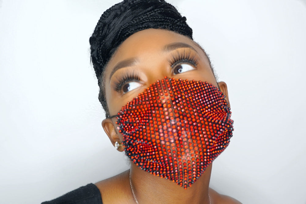 Dazzle Spaz Red Berry Masks