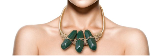 Chunky Shape Shell Tribal Necklace