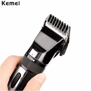 New Kemei Max Power Quiet Rechargeable Cordless Baby & Adult Hair Trimmer - Sgpshop17