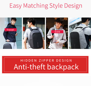 Multifunction USB charging 15inch Laptop Backpacks - Sgpshop17
