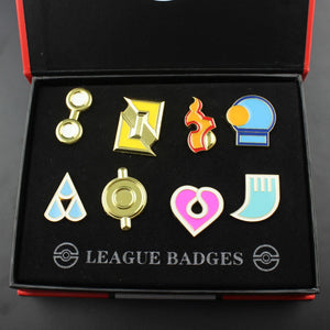 Gen 3 is coming - Get your Pokemon Hoenn 8 Metal League Gen 3 Badge Pin - Faster before its all sold.! - Sgpshop17
