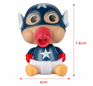 Cute Captain America Car Ornament