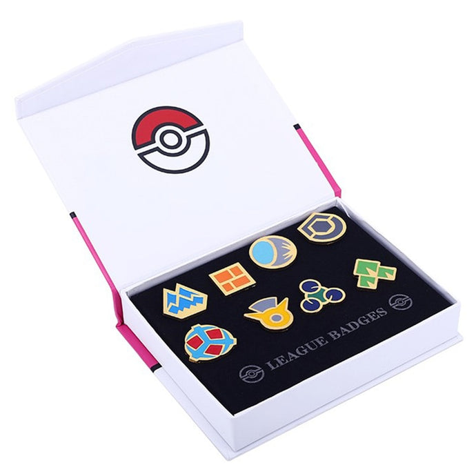 Pokemon Gen 4 Sinnoh League Gym Badge Collection Set