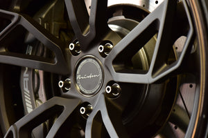 Ti Forged / Club Sports-Series TF-160 with Lock for Narrow PORSCHE (Nuts style)