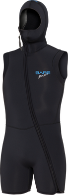 Bare 7mm Men's and Ladies  Step-in Hooded Vest