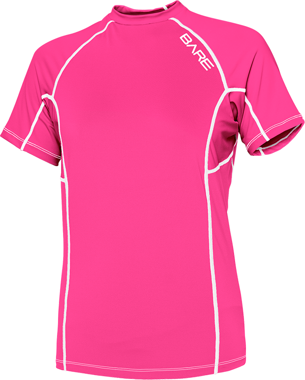 BARE WOMEN'S SHORT SLEEVE BARE SUNGUARD