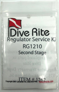 Dive Rite RG1210 Second Stage Service Kit RG1262