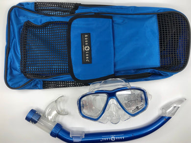 Aqua Lung Kids Mask, Snorkel and Fin Bag package