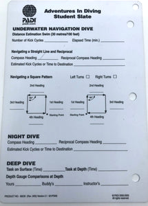 Padi Data Carrier Slate older version