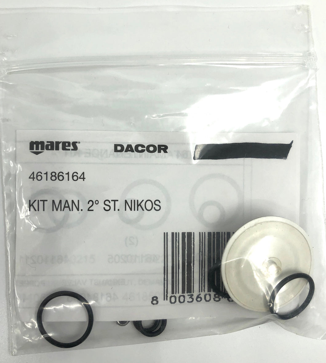 Mares Nikos Second Stage Service Kit 46186164