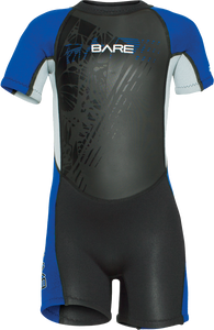 Bare 2mm Children's Tadpole Shorty Wetsuit
