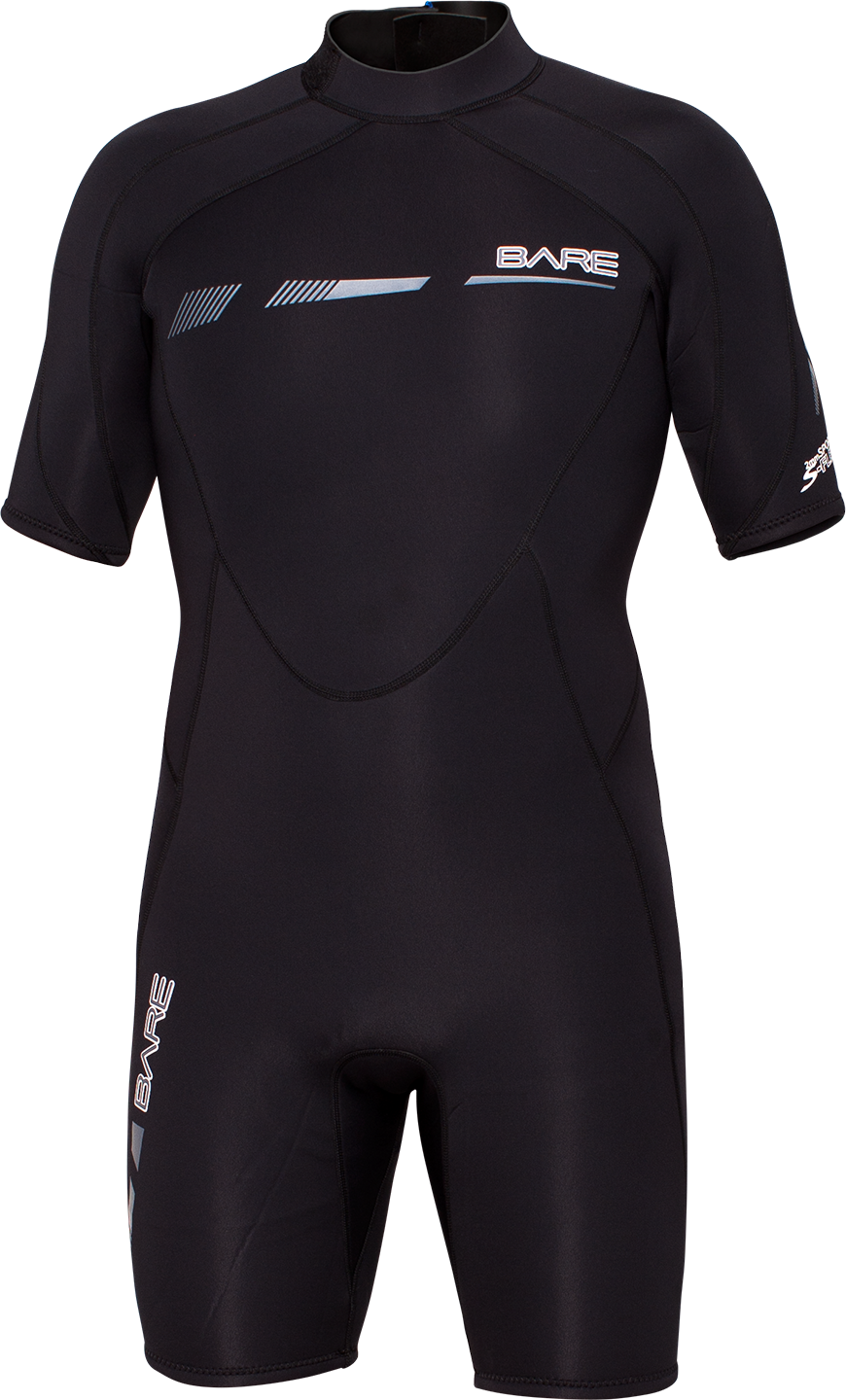 Bare Men 2mm S-flex shorty wetsuit