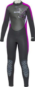 Bare 3/2mm Manta Full Children's Wetsuit