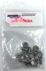 Zeagle nuts and Bolts for Backplate 519 BKBA