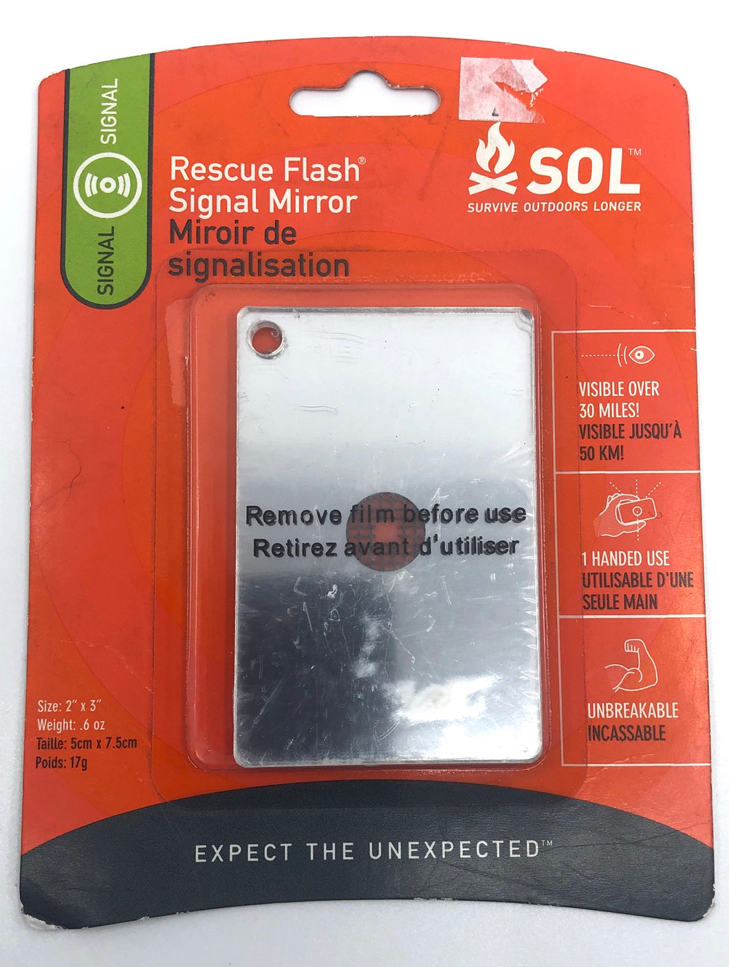 Innovative Scuba SOL Rescue Flash Mirror