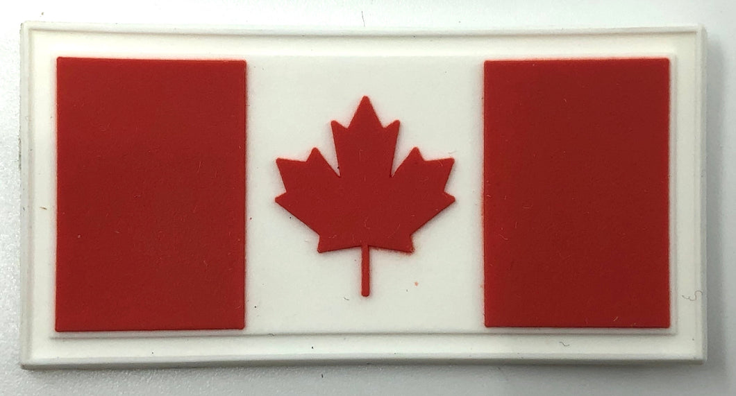 Vinyl Canadian Flag Patch