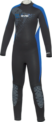 Bare 5/4mm Children's Manta Full Wetsuit