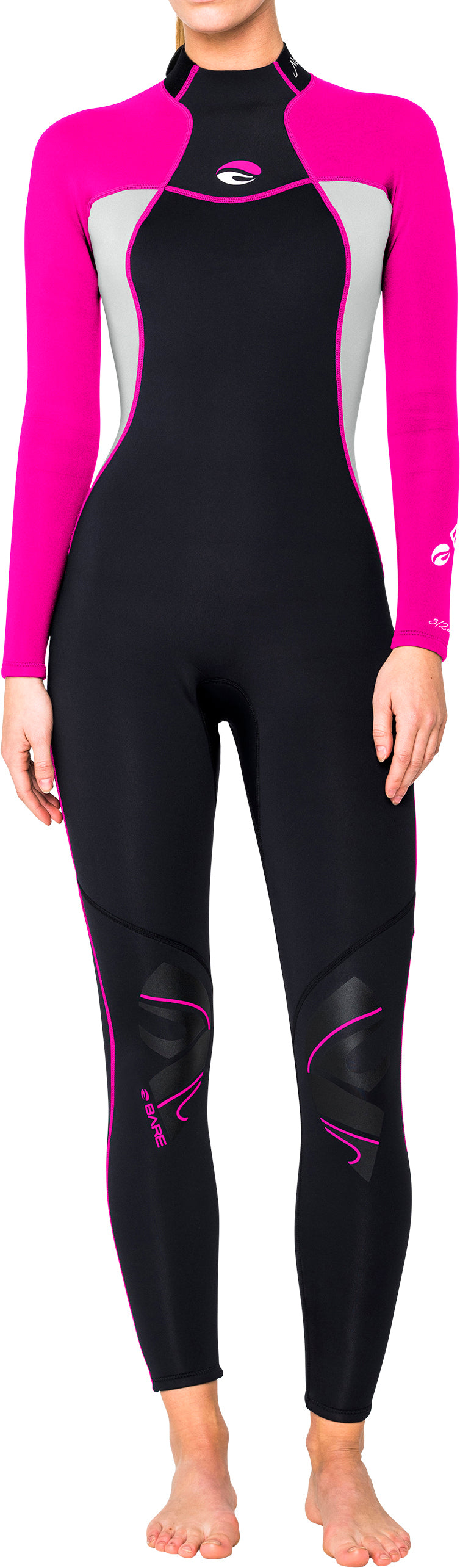 Bare Ladies 3/2mm Nixie full wetsuit Size 4, 8 and 10