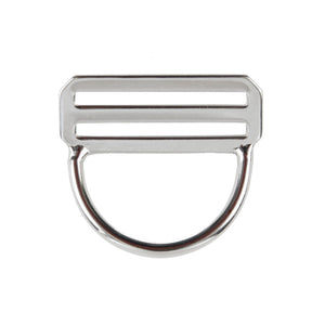 Dive Rite Stainless Steel Low Profile Bent D-ring with Slider