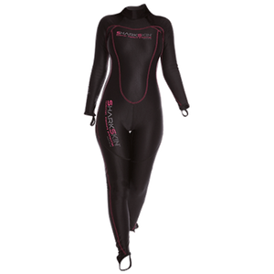 Shark Skin Ladies Chillproof Full suit Back Zip Size 8