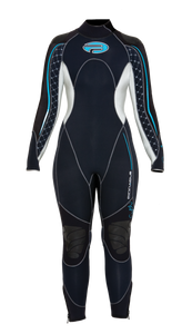 Pinnacle Ladies Siren Wetsuit 3mm, 5mm and 7mm