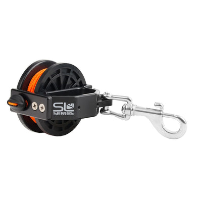 Dive Rite Slide Lock jump 50' reel