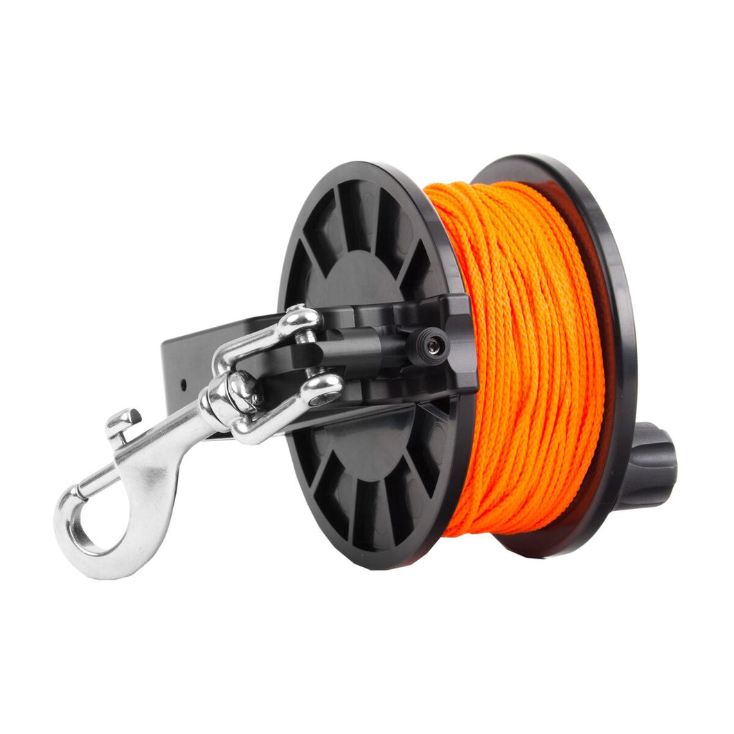Dive Rite Slide Lock Primary 250' orange #24 line