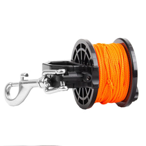 Dive Rite Slide Lock Safety 140' orange line