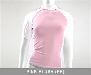 Akona Short Sleeve Ladies Rash Guard Large and XS. The XS would fit your 9-14 year old.