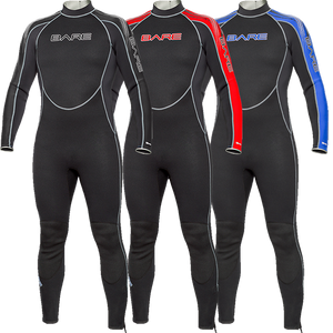 Bare Velocity 3mm Mens wetsuit FREE MESH BACKPACK FOR BLACK FRIDAY $46.99