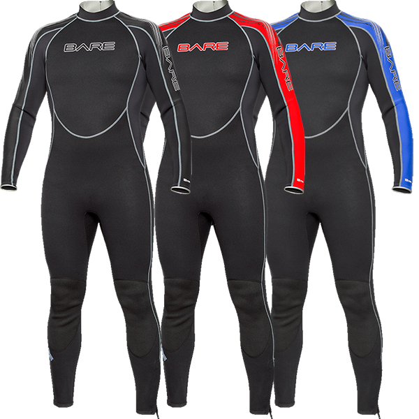 Bare Velocity 3mm Mens wetsuit
