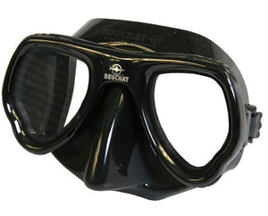 Beuchat MicroMax mask mirrored lens