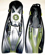 Aqua Lung Hotshots Travel Fins Size Small