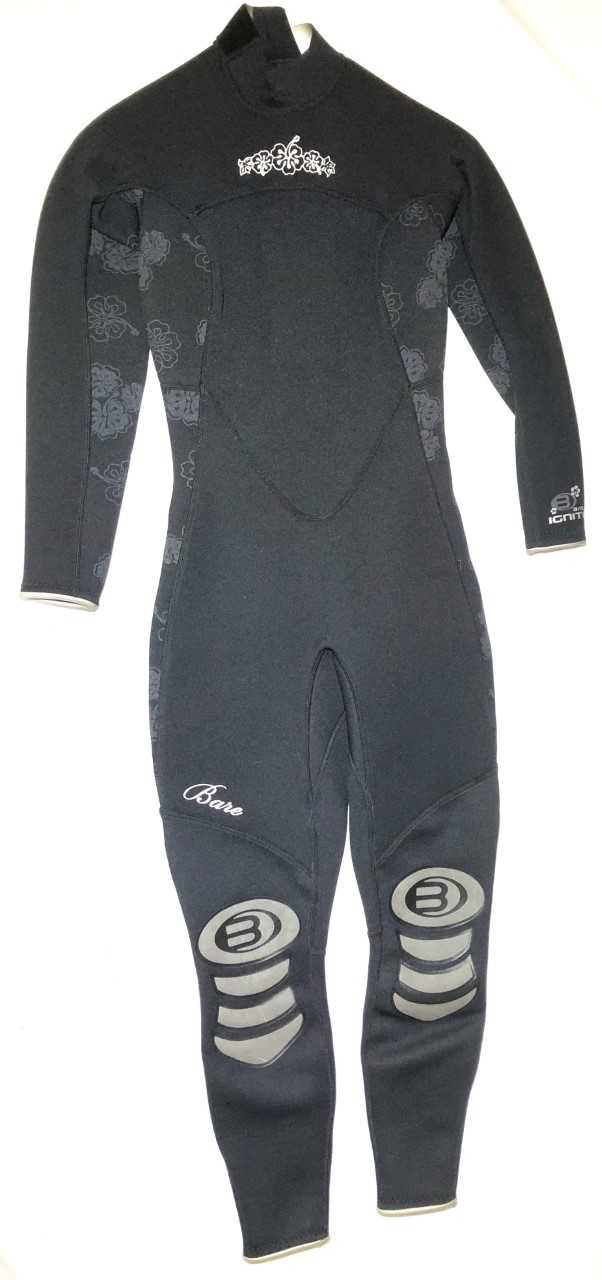 Bare Ladies Ignite full 3/2 mm Wetsuit Size 6 and 14 Only