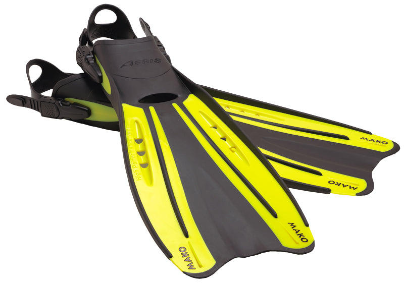 Aeris Mako Strapped Fins X-Large