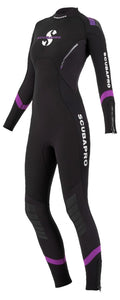 Scuba Pro Ladies Sport 3mm Steamer Size 4