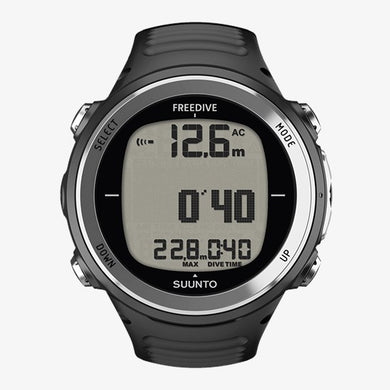 SUUNTO D4F BLACK w/o USB (Freedive)
