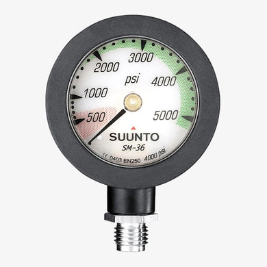 Suunto SM-36/4000psi with Rubber Sleeve no hose
