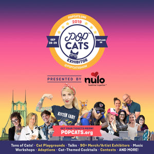 "Cat-Guardians with Cats that Road Trip, Hike Mountains, and Visit Markets to Challenge ""Scaredy-Cat"" Stereotype at ""POP Cats"" Panel Moderated By Your Cat Backpack"
