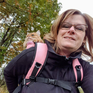 Primrose: Your Cat Backpack Featured Feline