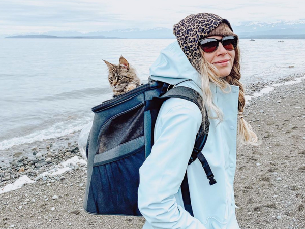 Travel Cat Tuesday: Cat Cuddles and Adventures Through the Covid Pandemic