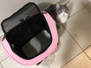 "Review and Walk-Through: ""The Fat Cat"" Cat Backpack Bubble Carrier"