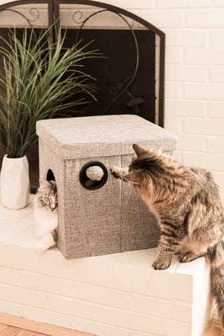 The Kitty Corner Cat Bed & Cave